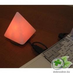 "Солевая лампа ""Пирамида"" USB"
